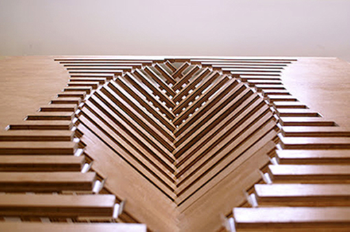 Creative Folding Table Design By Dutch Designer, Robert Van Embricqs