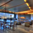 Lively room with lighting accents, design by Craft Architectos