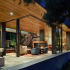 Modern elegance design for an indoor-outdoor house in Seattle - Architecture by DeForest Architects