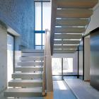 Pleasing stair construction in this Capetown home design by SAOTA