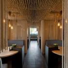 Ropes as a design element - Odessa Restaurant design by YOD Design