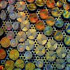 Dichroic colored Buttons